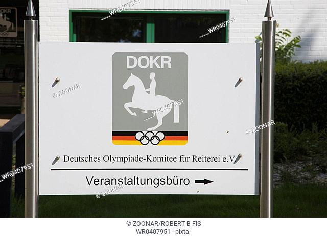 Training ground of the German Olympic Equestrian Committee