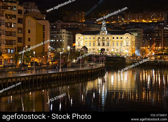 Bilbao City Council. Province of Bizkaia in the autonomous community of the Basque Country, Spain, Europe