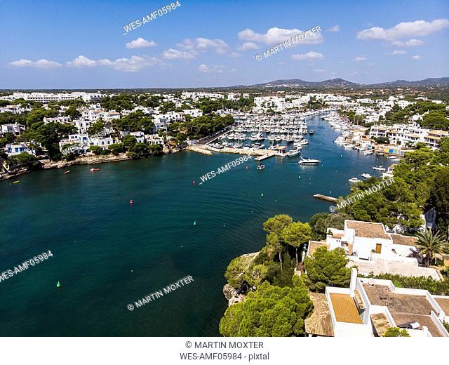 Spain, Balearic Islands, Mallorca, Coast of Cala d'or and bay Cala Ferrera