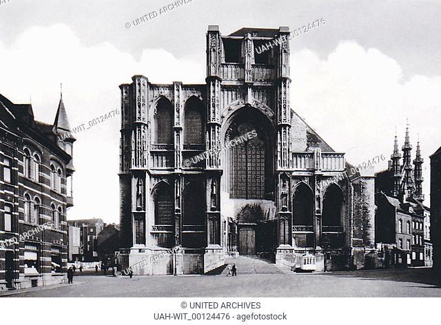 Die Kirche St. Peter in der Stadt Loewen., Sammlung Wittmann