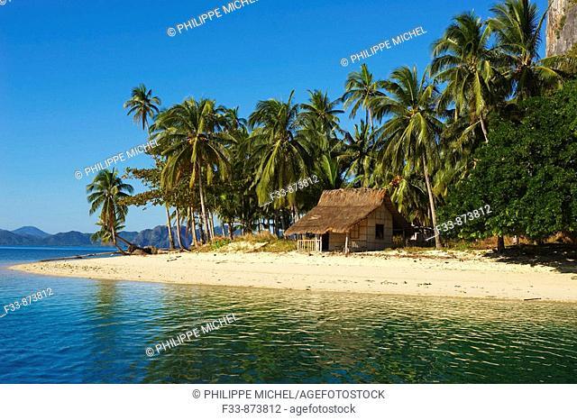 Bacuit archipelago at El Nido, Palawan island, Philippines