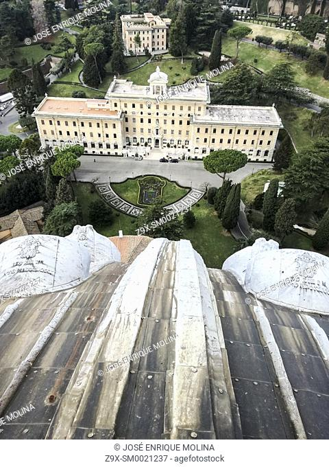 Gardens and museums of the Vatican, Rome, Italy