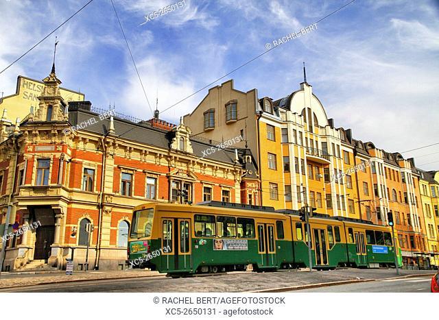 Ludvigsgatan Street, Helsinki, Finland, Europe