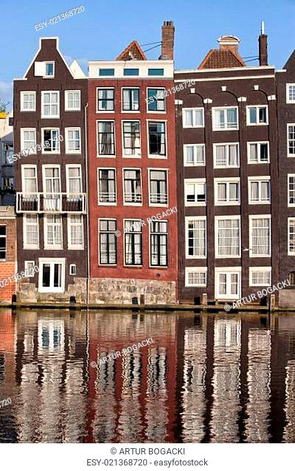 Row Houses in Amsterdam