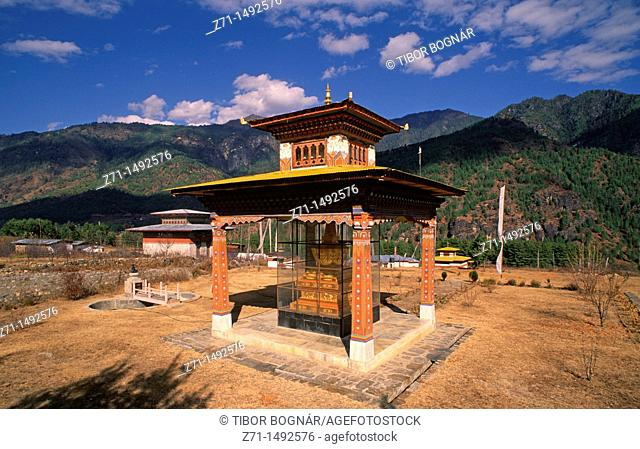 Bhutan, Paro, Buddhist Memorial