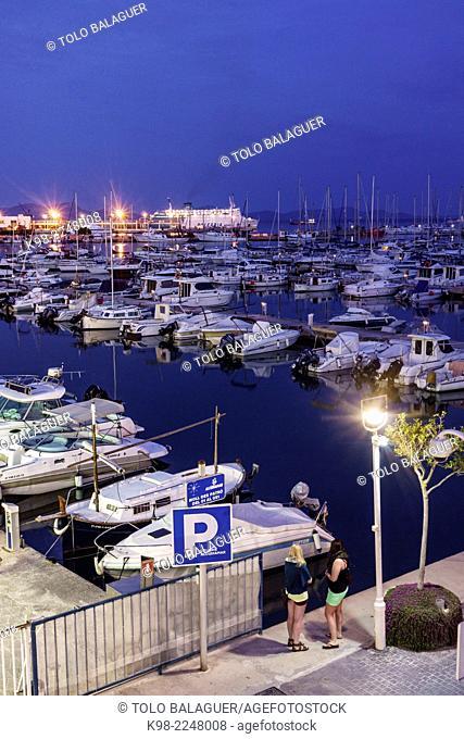 port of Alcudia, Balearic Islands, Mallorca, Spain