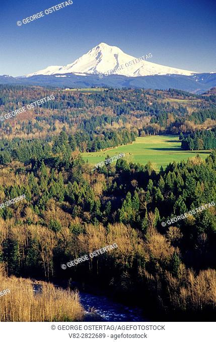 Mt Hood, Jonsrud Viewpoint, Sandy, Oregon
