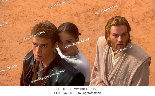Hayden Christensen, Natalie Portman, Ewan McGregor, 'Star Wars Episode II: Attack of the Clones' (2002)