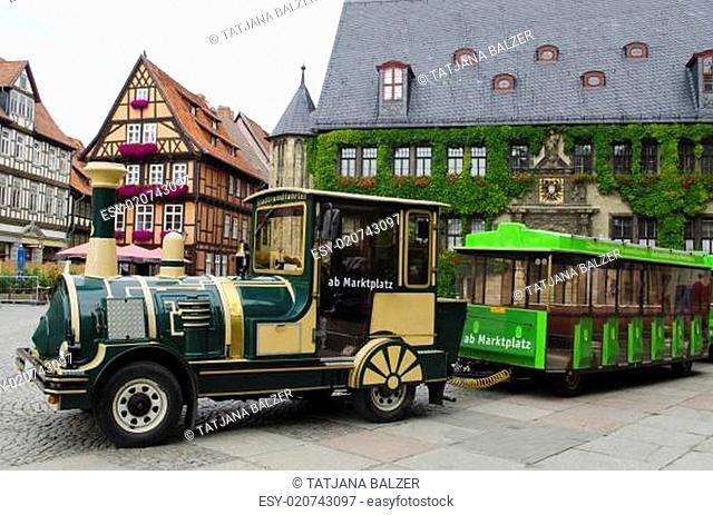 Stadt Quedlinburg im Harz (Deutschland)