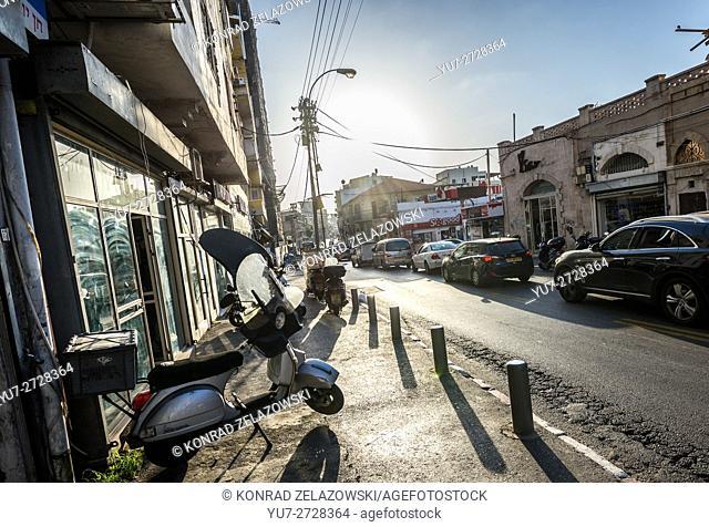 Eilat Street in Florentin neighborhood, Tel Aviv city, Israel