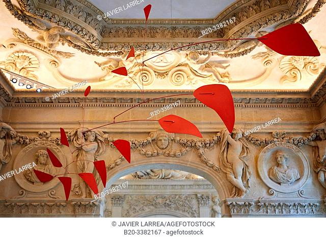 """""""Big Red"""", 1959, Alexander Calder, Picasso Museum, Paris, France, Europe"""