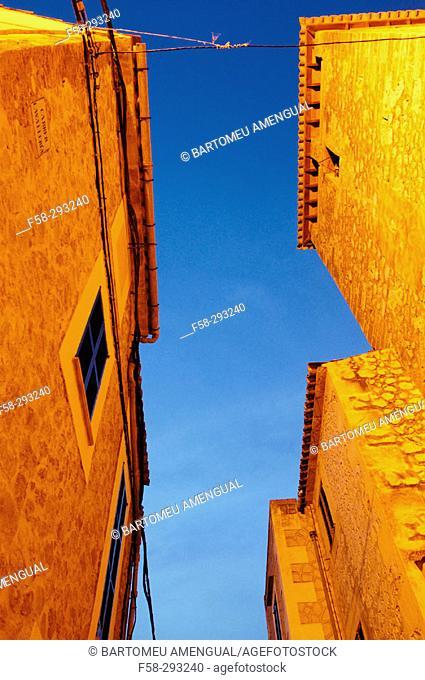 Banyalbufar. Majorca, Balearic Islands. Spain