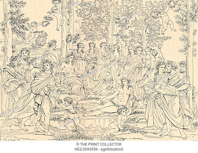'Parnassus', 1886. Artist: Unknown