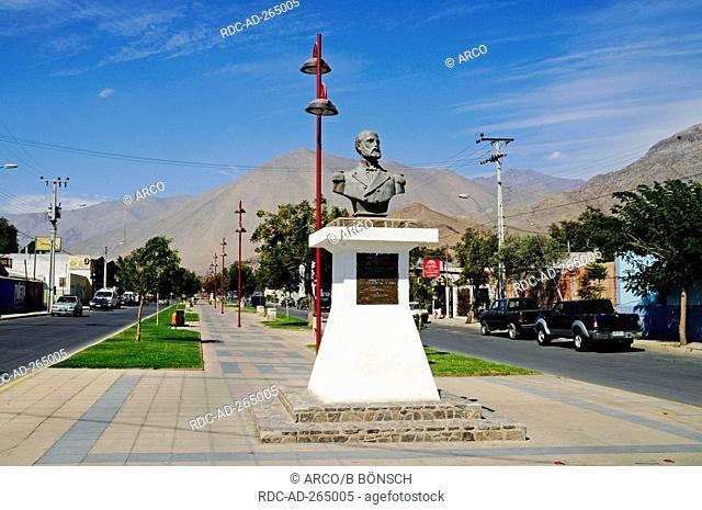 Memorial of Arturo Prat Chacon, La Serena, Elqui valley, Norte Chico, Chile