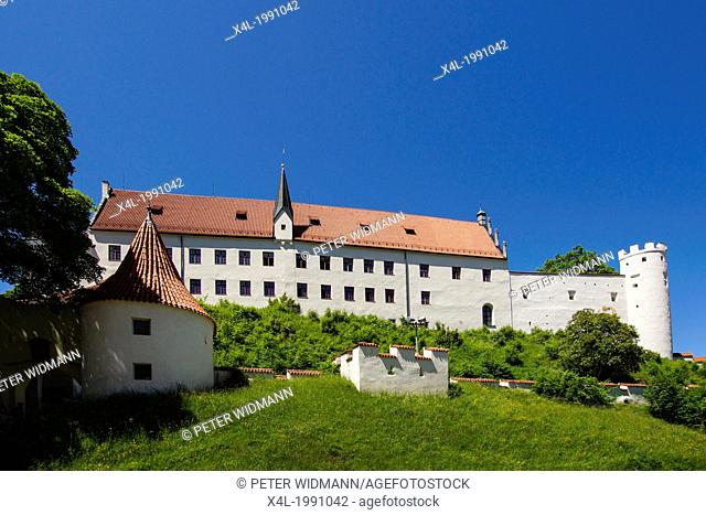 High Palace Hohes Schloss Fussen Bavaria Bayern Germany