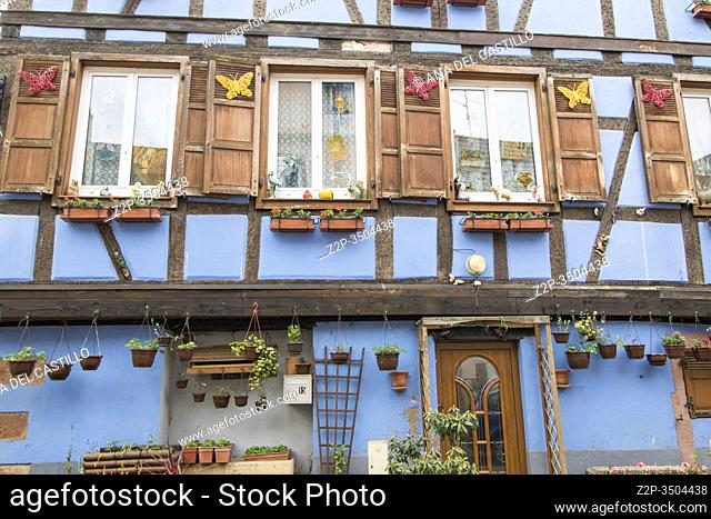Selestat in Alsace on May 13, 2016. France