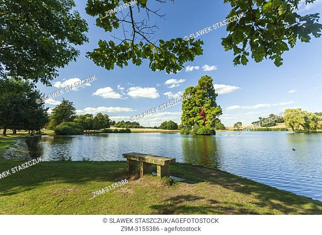 Late summer afternoon in Petworth Park, West Sussex, England