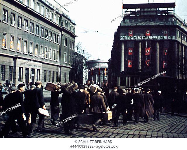 General Government, Zeitungsverlag Krakau-Warschau GmbH, publishing house, Warschauer Zeitung, German, paper, Poland, occupation, SS, Nazi Third Reich