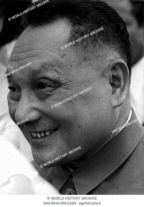 Deng Xiaoping (1904 – 1997); Chinese revolutionary and statesman. He was the paramount leader of the People's Republic of China from 1978 until his retirement...