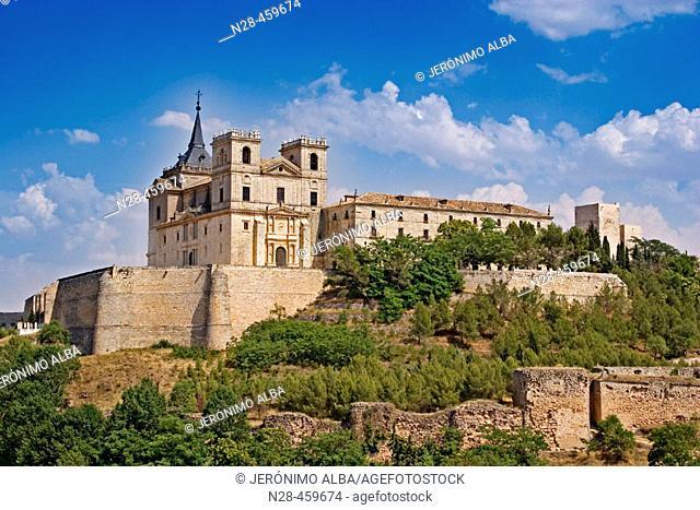 Monastery of Uclés. Cuenca province, Castilla-La Mancha, Spain