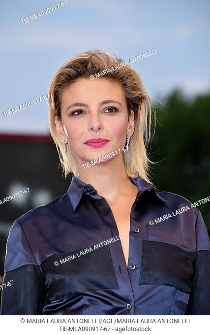 Jasmine Trinca during the red carpet of the Awards Ceremony. 74th Venice Film Festival. Venice, Italy 09/09/2017