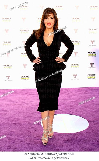 Latin American Music Awards 2017 Arrivals held at the Dolby Theatre in Hollywood, California. Featuring: Maria Canals Where: Los Angeles, California