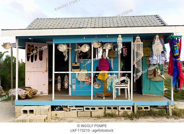Souvenir shop at North Point, Barbados, Caribbean