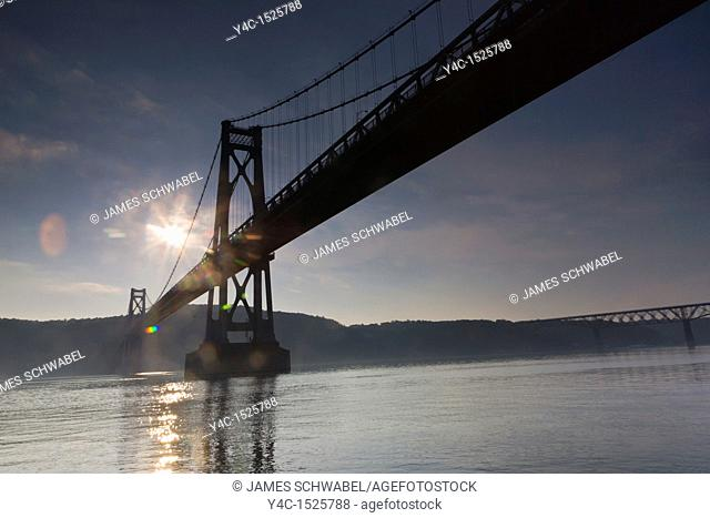 Mid-Hudson Bridge over the Hudson River