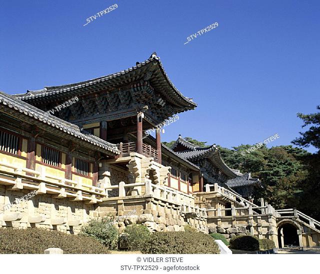 Asia, Holiday, Kyongju, Landmark, Pulguksa, South Korea, Korea, Temple, Tourism, Travel, Vacation