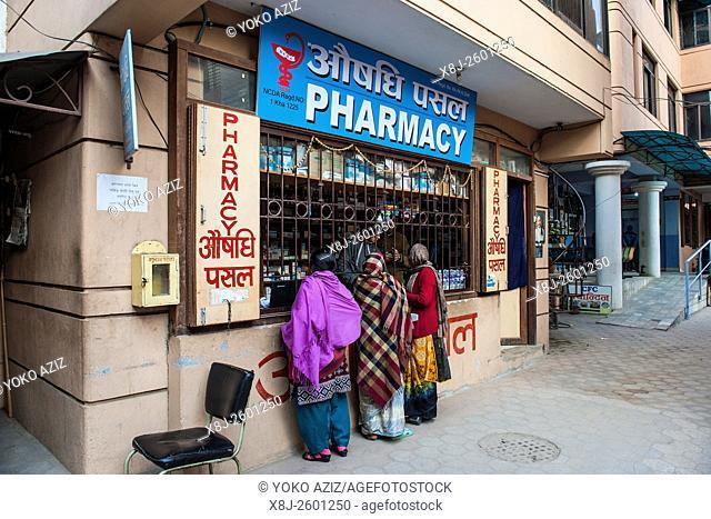 Nepal, Kathmandu, daily life