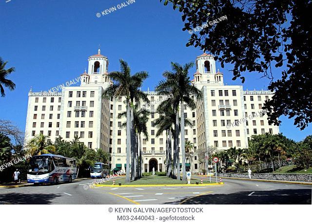 Famous Art Deco Hotel National in Vedado area Havana Cuba