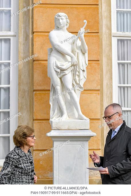 17 September 2019, Brandenburg, Potsdam: Ruth Cornelsen, founder and chairman of the advisory board of the Cornelsen Kulturstiftung