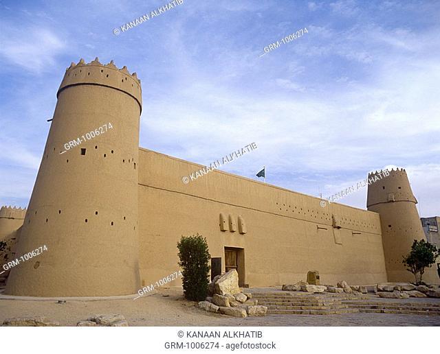 Al Masmak Fort in Riyadh, Saudi Arabia