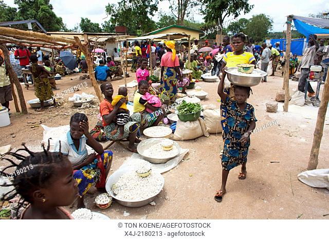 food market in Africa