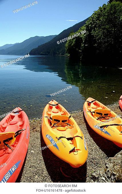 WA, Washington, Olympic Peninsula, Olympic National Park, Fairholm