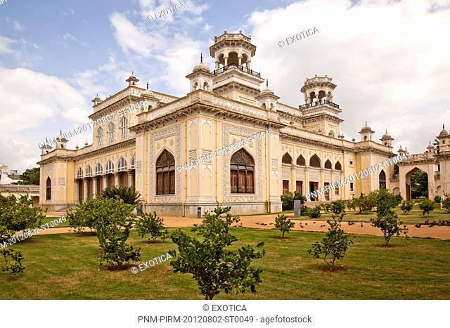 Facade of a Palace, Chowmahalla Palace, Hyderabad, Andhra Pradesh, India