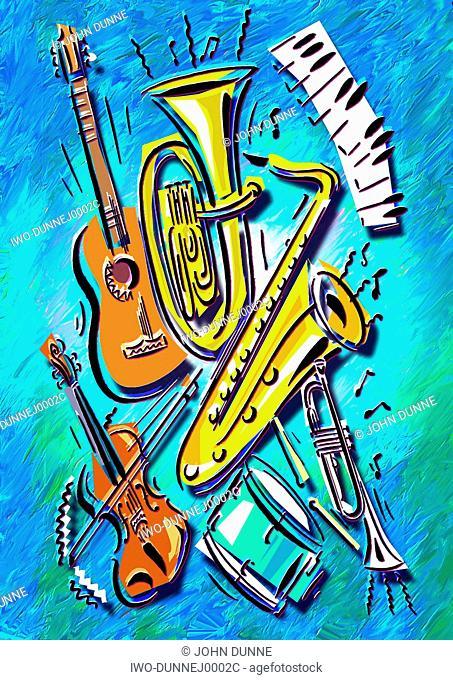 musical instrument ensemble