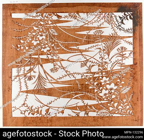 Stencil. Period: Edo period (1615-1868); Culture: Japan; Medium: Paper; Dimensions: 16 x 14 in. (40.64 x 35.56 cm); Classification: Stencils; Credit Line: Gift...
