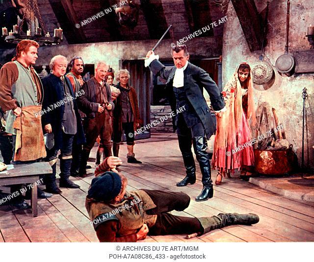 Moonfleet  Year: 1955 USA Director: Fritz Lang Stewart Granger, Sean McClory, Melville Cooper, Dan Seymour, Liliane Montevecchi