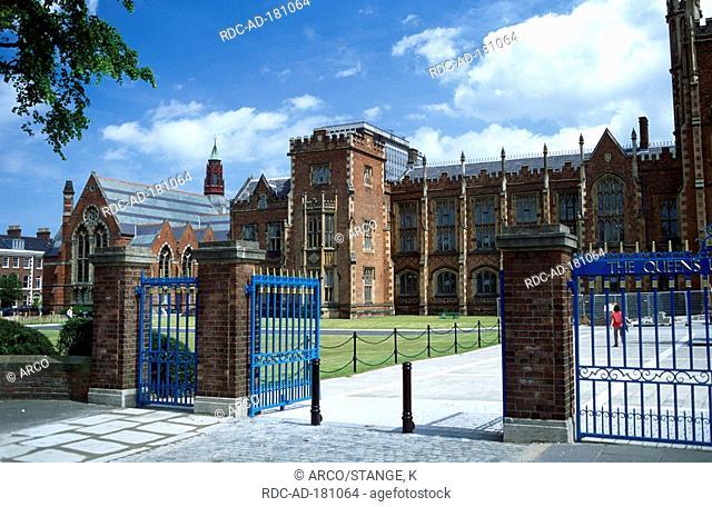 Queens University, Belfast, Northern Ireland, Great Britain