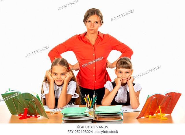 Teacher tired of stupid children