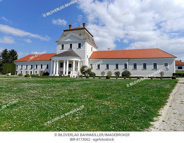 Nebersdorf Palace, Nebersdorf, Burgenland, Austria