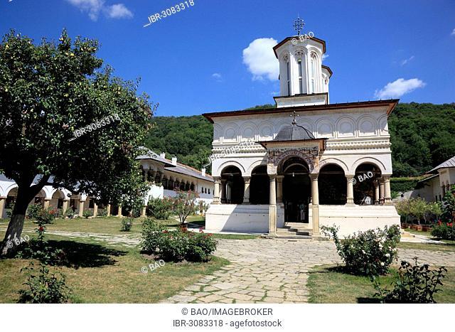 Horezu Monastery, UNESCO World Heritage Site, Horezu, Vâlcea County, Wallachia, Romania