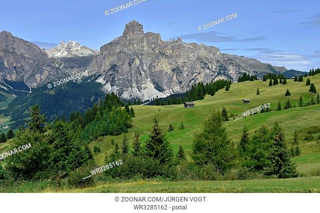 Puezgruppe; Sassongher; Dolomiten; Suedtirol; Italien; Dolomites; South Tyrol; Italy;