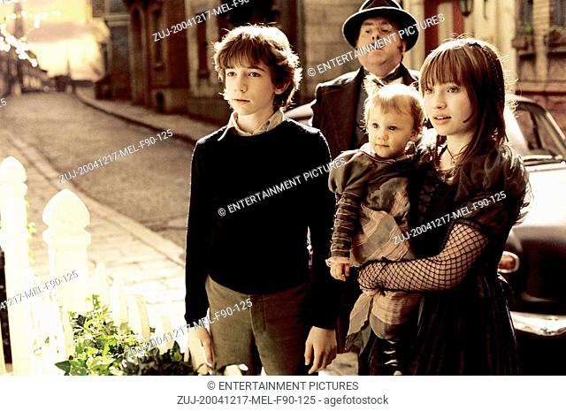 RELEASE DATE: December 17, 2004. MOVIE TITLE: Lemony Snicket's A Series of Unfortunate Events. STUDIO: Paramount Pictures