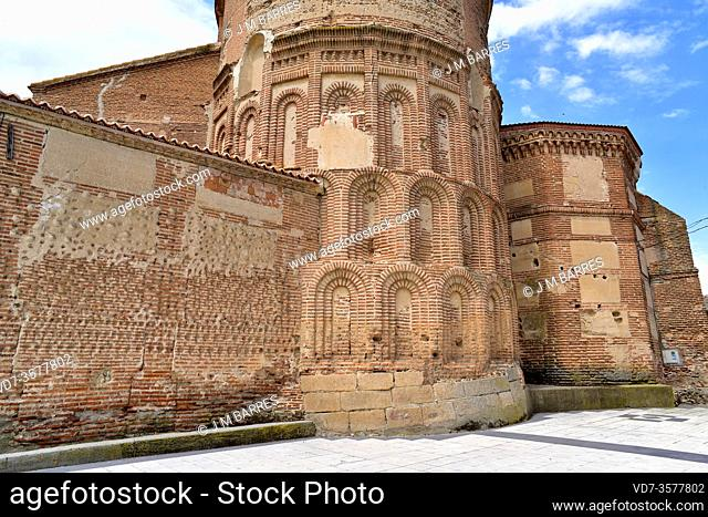 Ragama, El Salvador Church romanesque-mudejar (13-16th centuries). Salamanca province, Castilla y Leon, Spain