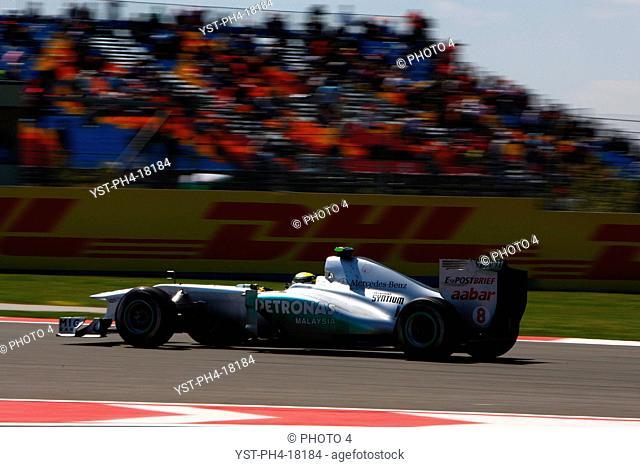 Nico Rosberg GER, Turkish Grand Prix, Istanbul, Turkey