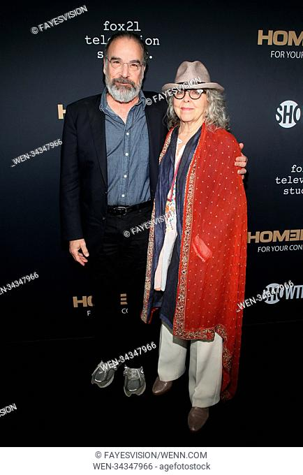 "FYC Event For Showtime's """"Homeland"""" Featuring: Mandy Patinkin, Kathryn Grody Where: Beverly Hills, California, United States When: 05 Jun 2018 Credit:..."