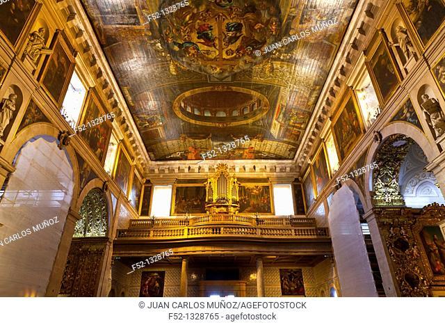 CHIADO DISTICT, EUROPE, CHURCH OF SAO ROQUE, LISBON, PORTUGAL
