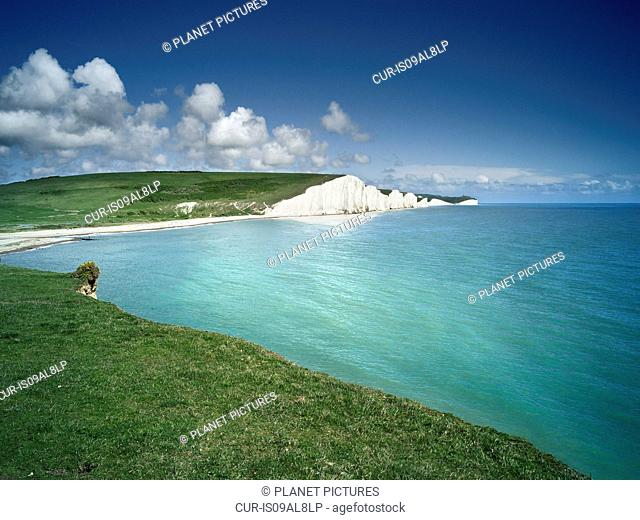 Seven Sisters Cliffs, Seaford, Sussex, England